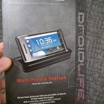 Motorola Droid 2 – Le dock en photo