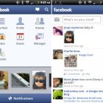 Facebook – Nouvelle version 1.3 pour Android