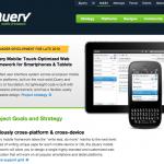 jQuery – Maintenant compatible pour les Android Phones avec jQuery Mobile