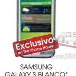 Samsung Galaxy S – Disponible en Espagne en blanc