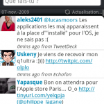 HTC Sense – Peep ne marche plus à cause de Twitter