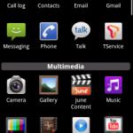 LG Optimus – Le lanceur d'application sur n'importe quel terminal