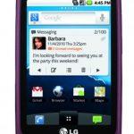 LG Optimus T – L'Android Phone d'entrée de gamme de LG