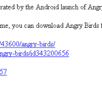 Angry Birds – Le site de Rovio victime de son succès