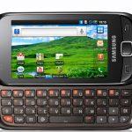 Samsung Galaxy 551 – Officiellement annoncé pour l'Europe