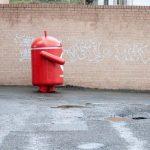 Bugdroid – La mascotte d'Android dans les rues de Sydney