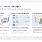 Facebook Messages – Facebook va bientôt gérer vos emails et vos SMS