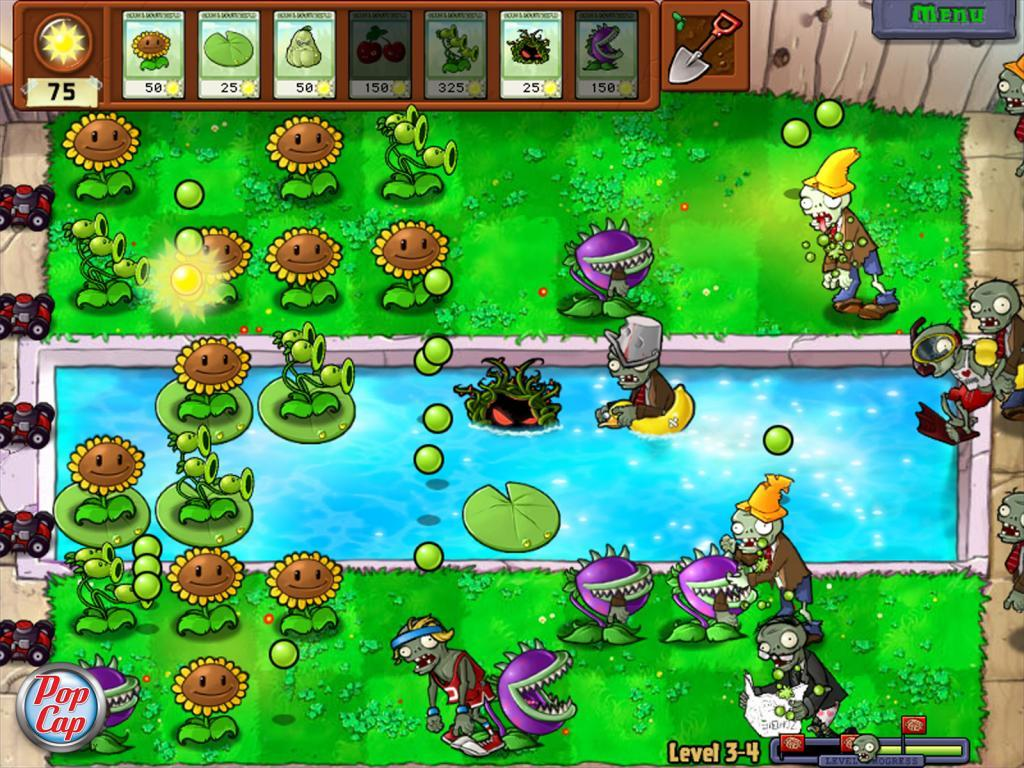 Plants vs zombies game1