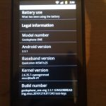 GeeksPhone One – Mise à jour Android 2.3 Gingerbread disponible