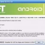 HTC HD2 – Android disponible en vraie ROM pour mémoire interne