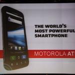 #CES – Motorola Atrix 4G – Le plus musclé des Android