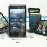 HTC Thunderbolt et HTC Inspire 4G dévoilés par Rolling Stone magazine
