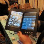 #CES Nec présente sa tablette tactile double écran