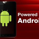 La tablette Android Toshiba Tablet a un site