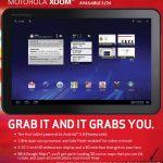 Motorola Xoom – Pas de prise en charge d'Adobe Flash à sa sortie