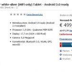 HTC Flyer – 499 euros en pré-vente