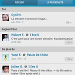Foursquare – L'application est maintenant en français