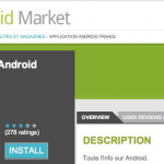 Les nouvelles fonctionnalités d'Android Market pour les développeurs