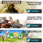 Gameloft – 50% de réduction sur les jeux HD pour la Saint Valentin