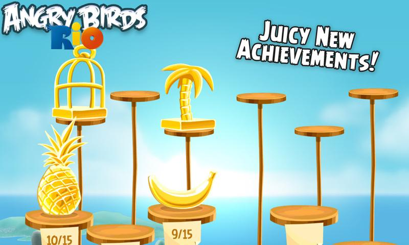Angry birds rio disponible sur android market android - Jeu info angry birds ...