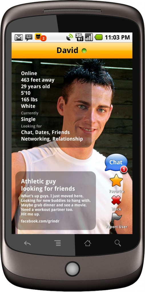 Appli rencontre gay android
