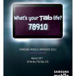 Galaxy Tab 8.9 pouces – Annonce probable au CTIA 2011