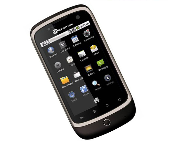 micromax a70 un android phone moins de 100 euros android franceandroid france