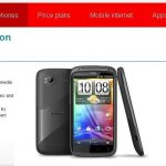 HTC Sensation – Apparition du Pyramid sur le site de Vodafone UK