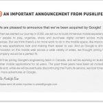 Google rachète Pushlife pour améliorer le mutlimédia sur Android