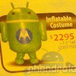 Bugdroid – Offrez vous une mascotte Android gonflable de 2.2m pour 2295 dollars