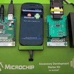 PIC24F Microchip – Le circuit imprimé compatible Android Open Accessories
