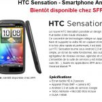 HTC Sensation – Les caractéristiques