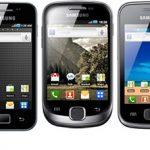 Samsung Galaxy – Mise à jour Android 2.3 Gingerbread pour toute la gamme