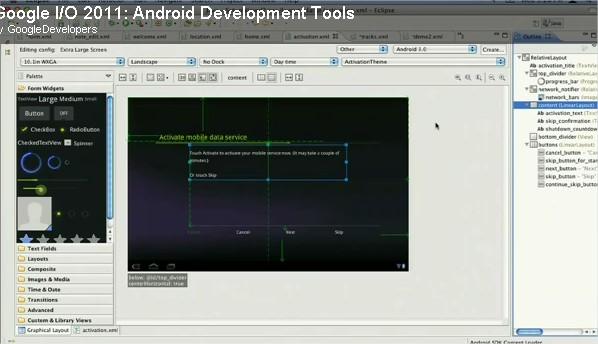 adteclipse Une nouvelle version du plugins Android pour Eclipse maintenant disponible Android France