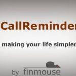 Ajouter des annotations sur vos appels avec l'application CallReminder