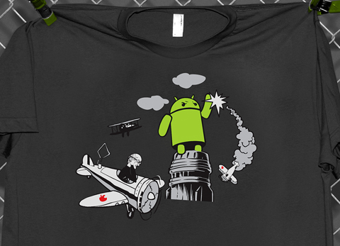 shirt King Kong Andy   Le dernier tee shirt Bugdroid de George Soto Android France