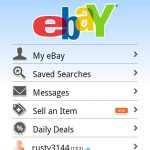 Ebay – Mise à jour de l'application officielle