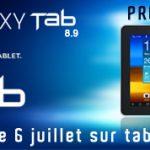 Samsung Galaxy Tab 8.9 et 10.1 en pré commande sur Tablette-Store.com