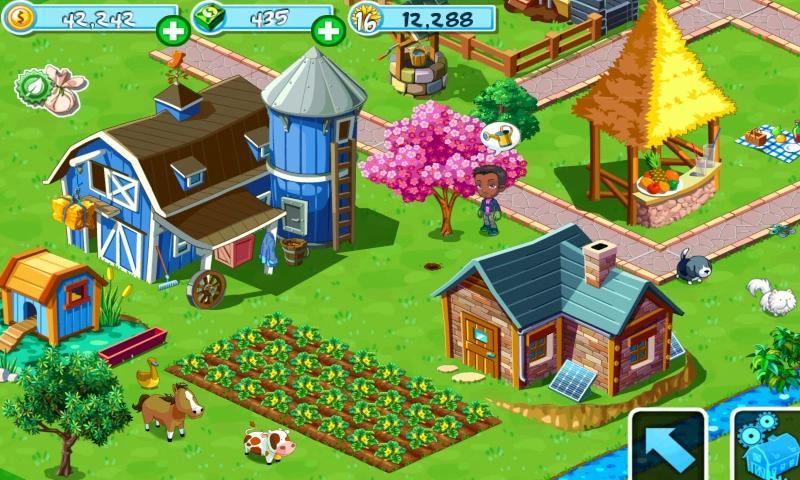 Green Farm 3 (Зеленая ферма 3) (by Gameloft) - simulation ...