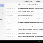 Google Reader – le support des tablettes tactiles maintenant disponible