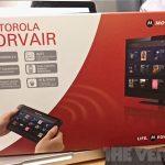 Motorola Corvair – Tablette tactile et télécommande universelle