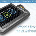 WikiPad – La console de jeu portable 3D sans lunette sous Android #CES2012