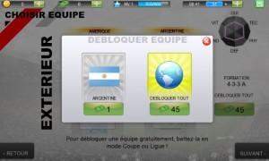 Choix équipe Real Football 2012