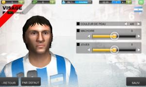 Tete messie Real Football 2012
