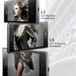 Optimus L – Des infos sur la série L3, L5 et L7