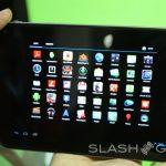 Toshiba – AT230 une tablette 7,7 pouces quad-core #MWC2012
