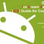Samsung Galaxy S II – Le guide de la migration ICS disponible (merci Samsung !)