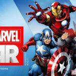 Marvel – Une application pour de la réalité augmentée sur leurs comics