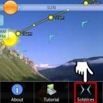 Trajectoire du soleil et de la lune – Deux applications réalité augmentée