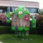ZombieSmash – Zynga se refait la déco d'un Bugdroid chez Google pour le lancement du jeu
